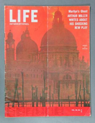 "Magazine - ""Life International"",  Vol 36 No 4, 24 February 1964"