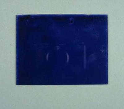 Single unused Glass Plate negative