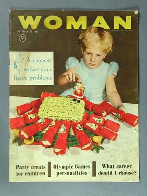 "Magazine, ""Woman"" Nov-Dec 1956; Documents and books; 1987.1826"