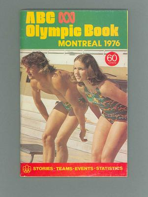 Booklet - ABC Olympic Book, Montreal 1976 Olympic Games