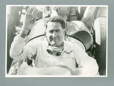 Photograph of Jack Brabham, c1960s
