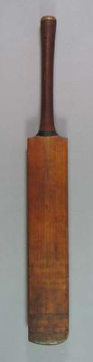 Cricket bat, autographed by England XI 1928-29