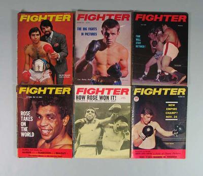 Seventeen boxing magazines, c1967-71