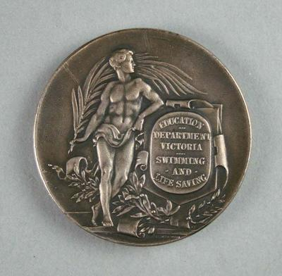Medal, Education Department Victoria Swimming and Lifesaving 1925