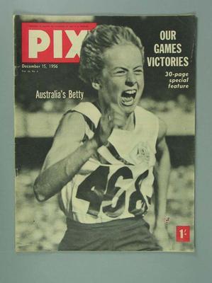 "Magazine, ""Pix"" v44 no2 15 Dec 1956"