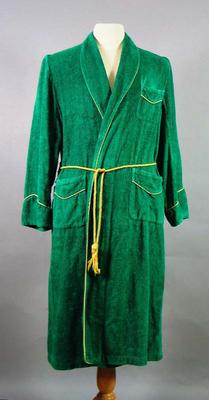 Dressing Robe - 1956 Olympic Games Australian Team worn by David Schumacher
