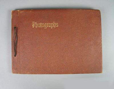 Photograph album, containing images of boxers c1940s