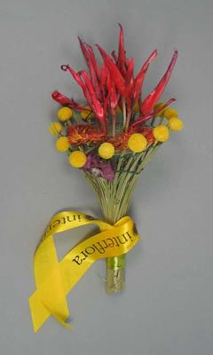 2006 Commonwealth Games medal Ceremony Bouquet presented to Asafa Powell at MCG 20 March