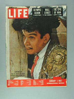 "Magazine, ""Life International"" vol22 no1 7 Jan 1957"