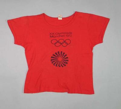 Child's T-shirt - XX Olympiade, Munchen 1972 Olympic Games, Bavaria