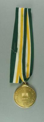 Medal - Melbourne Marathon, Budget Australia 1788-1988, Brian Dixon collection