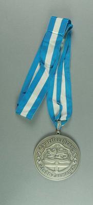 Medallion - 'Sportlerhrung Stadt Dormagen' Germany 1993 - Brian Dixon collection