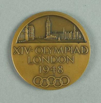 Participation medallion, 1948 London Olympic Games