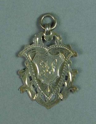 Medal won by Ivan Stedman, M.P.S.C. Boys Race
