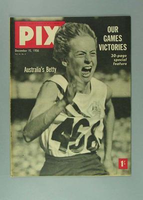 """Magazine, """"Pix"""" - 15 Dec 1956"""