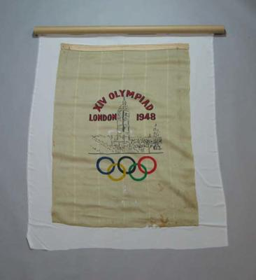 Banner, 1948 London Olympic Games