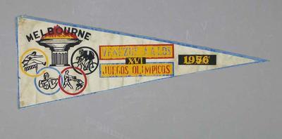 Pennant, Venezuelan 1956 Olympic Games team
