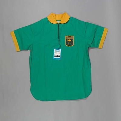 Hockey shirt, 1972 Australian Olympic Games uniform