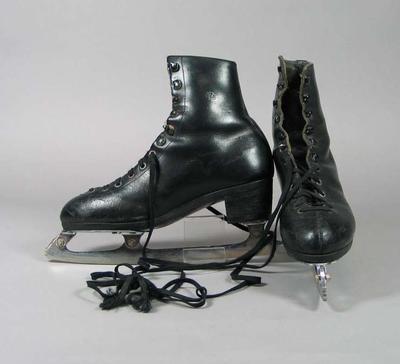 Figure skates, worn by Billy Schober c1970s-80s