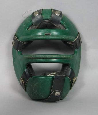 Protective mask, unknown sport