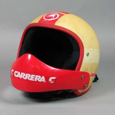 Ski helmet, undated