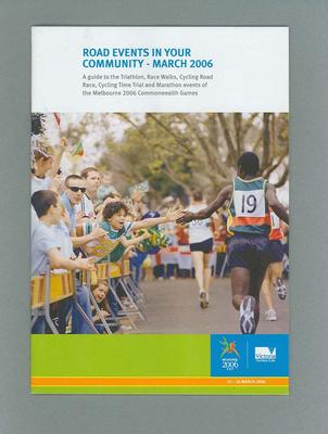 Guidebook - Road Events in your Community March 2006 - Commonwealth Games