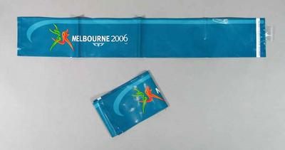 Inflatable cushions x 2 - 'Melbourne 2006', Commonwealth Games