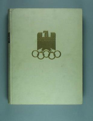 Report of the Organising Committee for the 1936 Olympic Games, Vol 2; Documents and books; 1989.2095.31