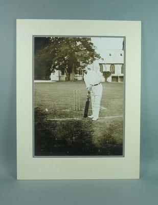 Mounted black & white photograph, Sydney Gregory