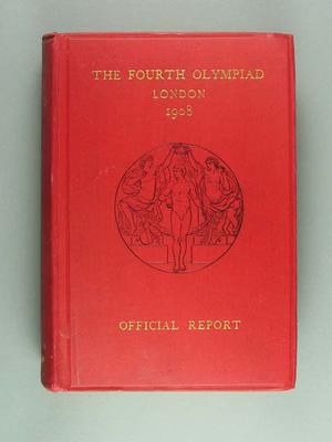 Official report of 1908 London Olympic Games