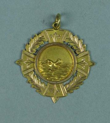 Gold medal awarded to Ivan Stedman, S.A.S.C. W.A.