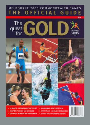 Guide book - The Official Guide, 2006 Commonwealth Games, Melbourne