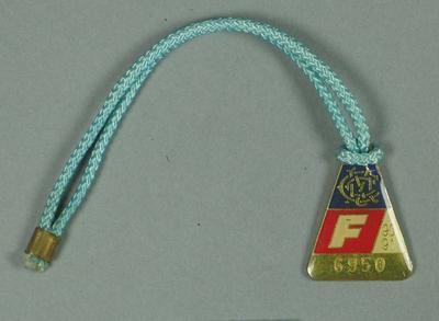Full membership medallion issued by the MCC for season 1990/91