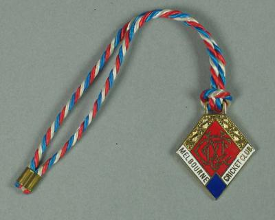 Full membership medallion issued by the MCC