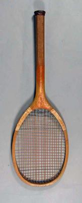 Tennis racquet, T H Prosser & Son