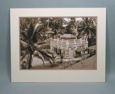 Photograph of a building in Sri Lanka