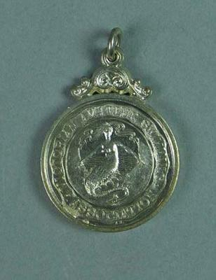 Silver medal won by Ivan Stedman, V.A.S.A. 220 yards championship 1923-24