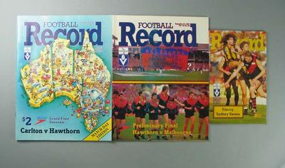 Various Football Records, c1983-87