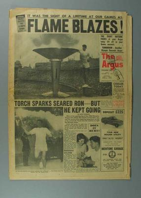 The Argus newspaper, November 23 1956