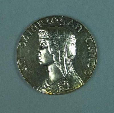 Silver medal won by Ivan Stedman, Tailteann Games - 1924