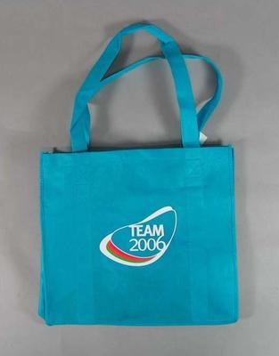 Carry bag part of 'Team Melbourne 2006' Volunteer's uniform, 2006 Commonwealth Games