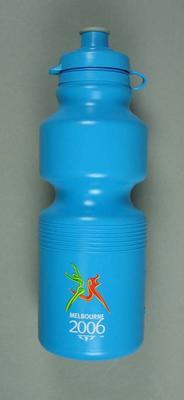Drink bottle part of  'Team 2006' Volunteers uniform, 2006 Melbourne Commonwealth Games; Sporting equipment; 2006.4959.19