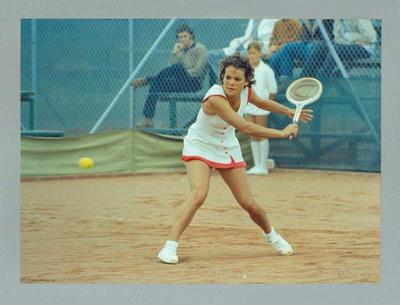 Photograph of Evonne Goolagong, Australian Hard Court Championships 1972