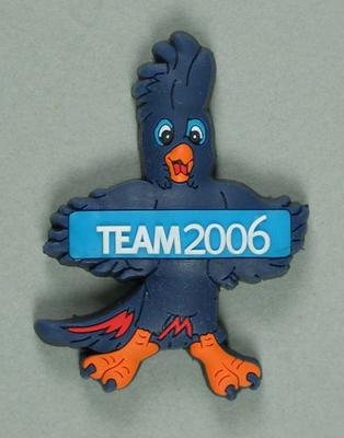 Mascot 'Karak' magnets - 'Team 2006', Melbourne Commonwealth Games
