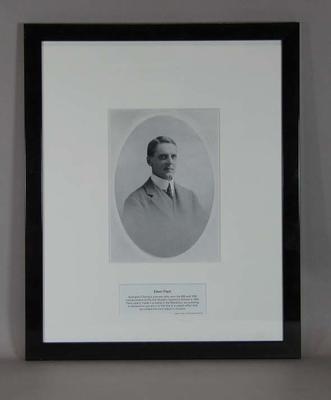 Photograph of Edwin Flack