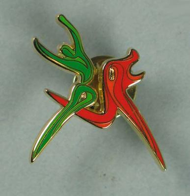 Lapel Pin - official logo for the  2006 Melbourne Commonwealth Games