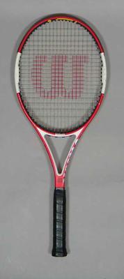 Tennis raquet used by Chris Guccione in a Davis Cup tie