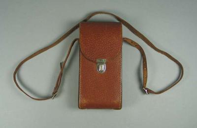 Camera case for Closed Pocket Kodak No. 1A camera used by T.H. Harry Morris