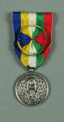 Medal of merit, awarded to Hubert Opperman