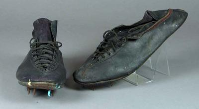 Pair of running shoes worn by William Ager